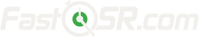 FastQSR.com logo in white