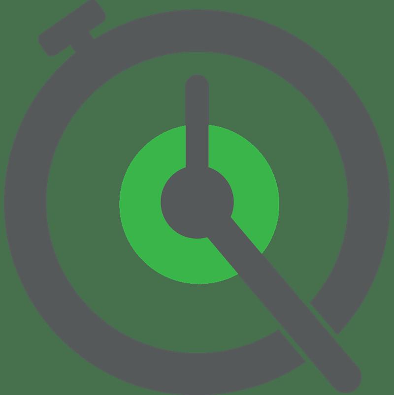 FastQSR.com stopwatch logo